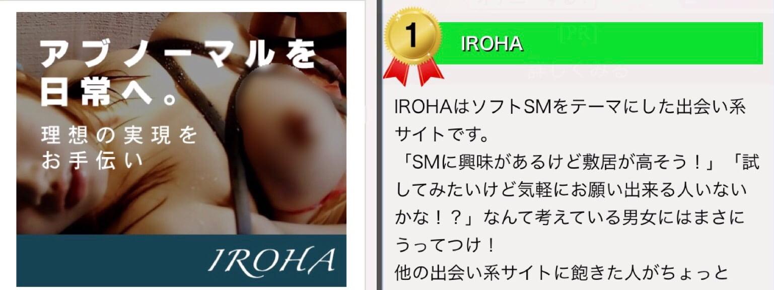 IROHAの口コミレビュー